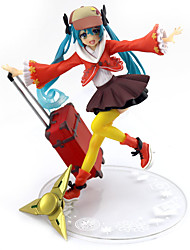 cheap -Anime Action Figures Inspired by Vocaloid Hatsune Miku PVC 16.5cm CM Model Toys Doll Toy