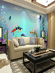 abordables -Mural Toile Revêtement - adhésif requis Peinture Décoration artistique 3D
