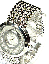 baratos -Mulheres Relógio de Moda / Relógio Elegante / Colar com Relógio Chinês Relógio Casual Lega Banda Casual Prata / Dourada / Ouro Rose / Um ano