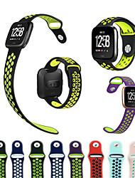 baratos -Pulseiras de Relógio para Fitbit Versa Fitbit Pulseira Esportiva Silicone Tira de Pulso
