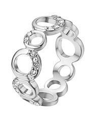 cheap -Women's Band Ring - Bohemian Elegant Silver Ring For Gift Daily