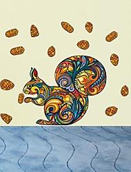 povoljno -Dekorativne zidne naljepnice - Naljepnice za zidne zidove Životinje Stambeni prostor Spavaća soba Kupaonica Kuhinja Trpezarija Study Room