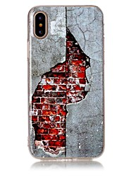 cheap -Case For Apple iPhone X iPhone 8 Ultra-thin Back Cover City View Soft TPU for iPhone X iPhone 8 Plus iPhone 8 iPhone 7 Plus iPhone 7
