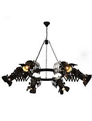 abordables -OBSESS® 6 lumières Lampe suspendue Lumière dirigée vers le bas - Style mini, 110-120V / 220-240V Ampoule non incluse / 5-10㎡ / FCC