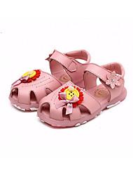 povoljno -Djevojčice Cipele Koža Ljeto Obuća za male djeveruše Sandale za Kauzalni Obala Pink