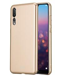 abordables -Coque Pour Huawei P20 Pro P20 Ultrafine Dépoli Coque Couleur Pleine Dur PC pour Huawei P20 lite Huawei P20 Pro Huawei P20 P10 Plus P10