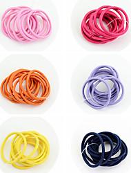 economico -Elastici & Ties Accessori per capelli Incollato Accessori Parrucche Per donna 60pcs pezzi 1-4 pollici cm Quotidiano Semplici Carino