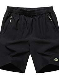 cheap -Men's Basic Shorts Sweatpants Pants - Solid Colored, Jacquard
