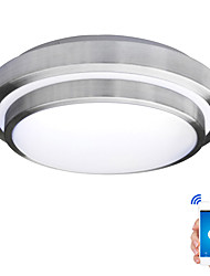 cheap -JIAWEN Chic & Modern Flush Mount Downlight - Eye Protection WIFI Control, AC110-240V, Warm White Cold White, LED Light Source Included