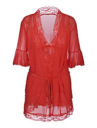 cheap -Women's Suits Babydoll & Slips Nightwear - Lace, Solid Colored