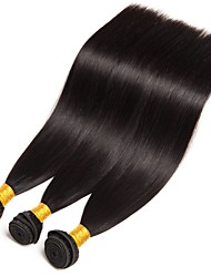 cheap -Brazilian Hair Straight Human Hair Extensions 3 Bundles 8-28 inch Human Hair Weaves Extention / Hot Sale Natural Black Human Hair Extensions All