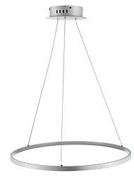 cheap -Ecolight™ 1-Light Circular Pendant Light Ambient Light - LED, 110-120V / 220-240V, Warm White / White / Dimmable With Remote Control, LED