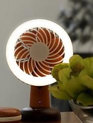 Недорогие -smart fan led light usb портативный карман abs + pp регулируемый наружный домашний офис летняя одежда прохладно свежий