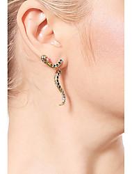 cheap -Women's Snake Drop Earrings - Casual / Fashion Gold Earrings For Daily / Date