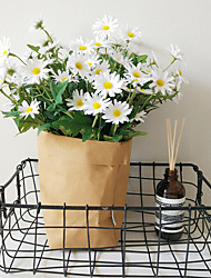 cheap -Artificial Flowers 1 Branch Simple Style / Pastoral Style Daisies Tabletop Flower