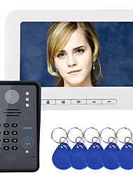 "economico -MOUNTAINONE Con filo 7"" Sistema Hands-Free 480*234*3Pixel One to One video citofono"