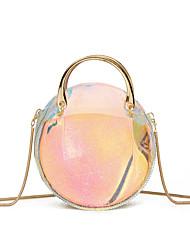 economico -Per donna Sacchetti PU sacchetto regola Set di borsa da 2 pezzi Bottoni Arcobaleno / Borse trasparenti / Borse di gelatina laser