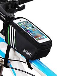 Недорогие -Сотовый телефон сумка Верхняя сумка для трубки 5.7 дюймовый Сенсорный экран Велоспорт для iPhone 8/7/6S/6 iPhone X Samsung Galaxy S8+ / Note 8 Синий Черный Красный Велосипедный спорт / Велоспорт