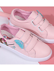 cheap -Girls' Shoes PU Spring Comfort Sneakers for Casual White Pink