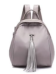 cheap -Women's Bags Oxford Cloth Backpack Zipper Black / Red / Gray