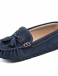cheap -Boys' Shoes Pigskin Spring / Fall Comfort / Moccasin Loafers & Slip-Ons for Gray / Red / Blue