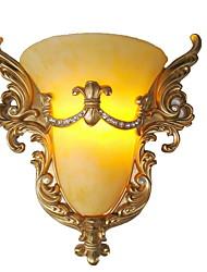 Недорогие -Защите для глаз Винтаж Гостиная Пластик настенный светильник 220 Вольт 25W