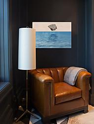 baratos -Estampado Laminado Impressão De Canvas - Abstrato Realismo Modern