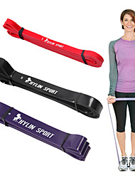cheap -KYLINSPORT 3pcs Exercise Bands/Resistance bands Suspension Trainer Fitness Set Gym Top Rated Strength Training Natural Rubber Elastic