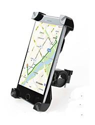 baratos -Base de Telefone Para Bicicleta 360 Rotating Moto Plásticos Preto / Rosa claro