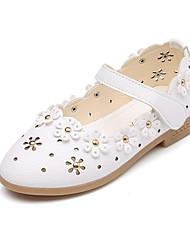 economico -Da ragazza Scarpe PU (Poliuretano) Primavera / Autunno Scarpe da cerimonia per bambine / Tacchi Piccoli per adolescenti Tacchi per Bianco