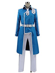 cheap -Inspired by Sword Art Online Cosplay Anime Cosplay Costumes Cosplay Suits Other Long Sleeve Coat / Pants / Waist Belt For Unisex Halloween Costumes