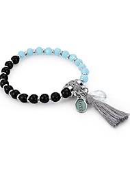 abordables -Femme Chaînes & Bracelets - Basique, Inspiration Bracelet Arc-en-ciel Pour Cérémonie Ecole