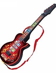 Недорогие -Электрическая гитара Гитара Подсветка Музыка Мальчики Девочки Детские Игрушки Подарок 1 pcs