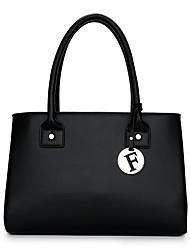 cheap -Women's Bags leatherette / PU Tote Zipper Black / Red / Gray