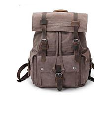 Недорогие -Жен. Мешки PU рюкзак Узоры / принт Военно-зеленный / Кофейный / Темно-серый