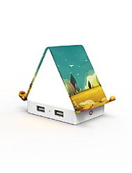 cheap -Smart USB Charger House-Shaped Stylish Multi-Functional USB Flame-Retardant Home Office Indoor