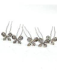 abordables -accessoire de cheveux en alliage avec cristal / strass 5 bandeau de mariage