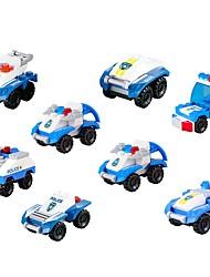 economico -Costruzioni Autovetture Interazione tra genitori e figli / Giocattoli di decompressione Camion militare / Auto della polizia Regalo