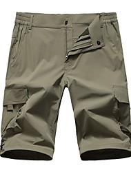 cheap -Men's Hiking Shorts Outdoor Fast Dry, Quick Dry, Sweat-Wicking Shorts / Bottoms Outdoor Exercise / Multisport