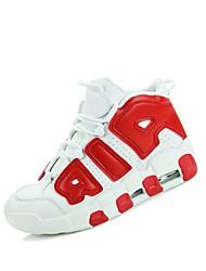 Недорогие -Муж. обувь Полиуретан Весна / Осень Удобная обувь Спортивная обувь Для баскетбола Черный / Красный / Синий