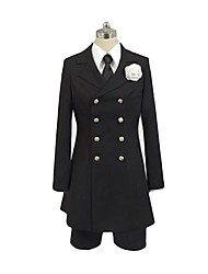 cheap -Inspired by Black Butler Ciel Phantomhive Anime Cosplay Costumes Cosplay Suits Other Long Sleeves Shirt Blouse Pants More Accessories Tie