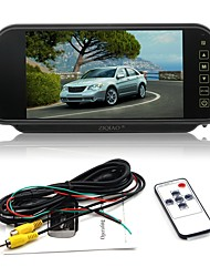 cheap -ZIQIAO 7 inch LCD Wired Car Reversing Monitor LCD Screen for Car