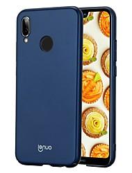 abordables -Coque Pour Huawei P20 lite P20 Ultrafine Dépoli Coque Couleur Pleine Dur PC pour Huawei P20 lite Huawei P20 Pro Huawei P20