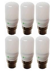 abordables -SENCART 6pcs 1.5W 120-140lm E14 G9 GU10 E26 / E27 B22 Ampoules Maïs LED T 15 Perles LED SMD 5730 Décorative Blanc Chaud Blanc 220-240V