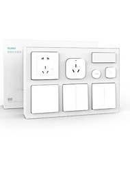 cheap -XIAOMI Aqara Smart Thermometer Smart Wall Plug Smart Remote Control All in One 1pack ABS APP