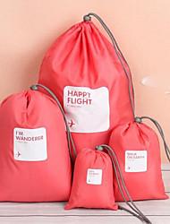baratos -Mulheres Bolsas PVC Conjuntos de saco Vazados Rosa / Amarelo / Café