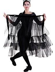 abordables -Baile Latino Pañuelos de Cadera para Danza del Vientre Mujer Entrenamiento Tul Pana Bufanda Hip y cinta de Danza del vientre no incluidas.
