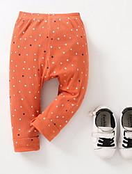 Недорогие -детские повседневные штаны из польки, полиэстер весна лето желтый покраснение розовый оранжевый 70 80 110 100 90