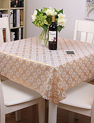 cheap -Contemporary PVC Square Table Cloth Floral Printing Table Decorations