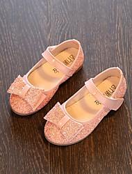 abordables -Fille Chaussures Polyuréthane Printemps / Automne Confort / Chaussures de Demoiselle d'Honneur Fille Ballerines pour Blanc / Bleu de